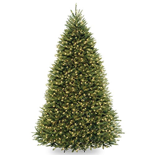 - 9' Pre-Lit Dunhill Fir Artificial Christmas Tree - Clear Lights