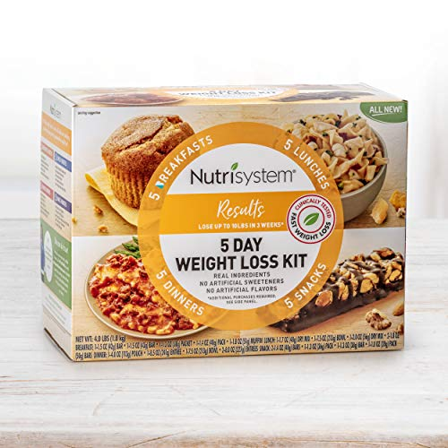 (Nutrisystem® 5 Day Weight Loss Kit, Results, Homestyle Favorites Perfectly Portioned for Weight Loss®)