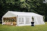 Decors-A Heavy Duty Outdoor Wedding Party Tent Carport Canopy Garage Tent