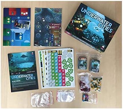 Arrakis Games - Juego de tablero Underwater Cities, Multicolor: Amazon.es: Juguetes y juegos