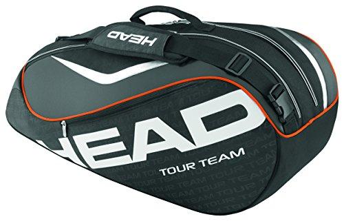 HEAD Schlägertasche Tour Team 6R Combi schwarz - schwarz/silber YlJJoR