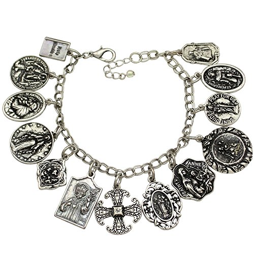 qq-fashionr-vintage-silver-plated-catholic-religious-church-medals-charm-saints-pray-for-us-cross-ch