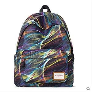 Backpack Travel bag computer bag fashion Korean high school students