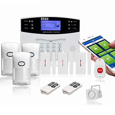YDJGY Alarma GSM InaláMbrica Inteligente Antirrobo Alarma ...