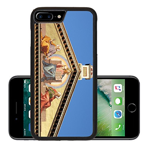 Liili Premium Apple iPhone 7 Plus Aluminum Backplate Bumper Snap Case iPhone7 Plus Basilica of Saint Paul outside the walls in Rome Italy Photo 12816641 - Basilica Outdoor Wall