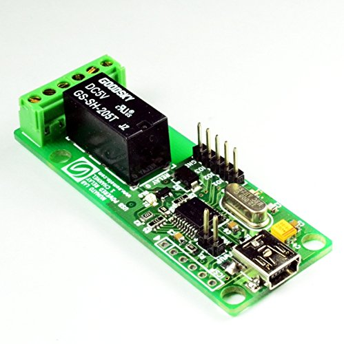 Numato Lab 1 Channel USB Powered Relay (1 Channel Relay)