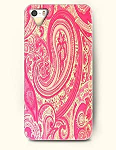 SevenArc Apple iPhone 4 4S Case Paisley Pattern ( Deep Pink Buteh Tree )