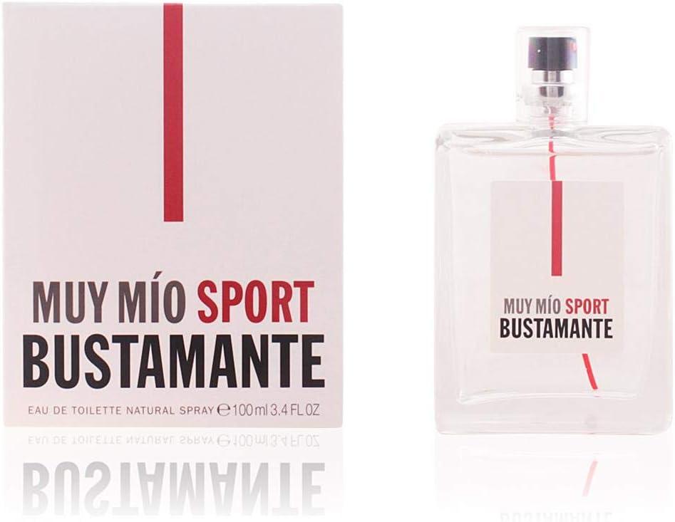 Bustamante Muy Mio Sport Agua de Colonia - 100 ml: Amazon.es: Belleza