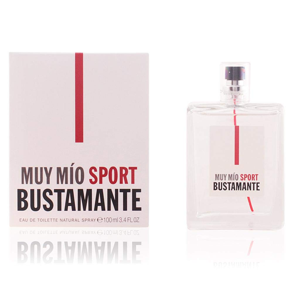 Bustamante Muy Mio Sport Agua de Colonia - 100 ml: Amazon.es ...