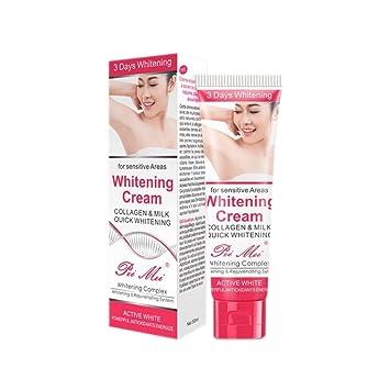 Scrubs & Bodys Treatments Beauty & Health 2019 New Style 50ml Armpit Whitening Cream Between Legs Knees Private Parts Underarm Whitening Formula Armpit Whitener Beauty Body Cream