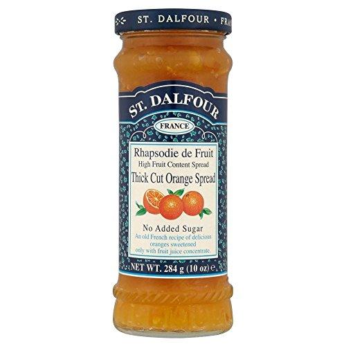 St. Dalfour Rhapsodie de Fruit Thick Cut Orange Jam (284g)