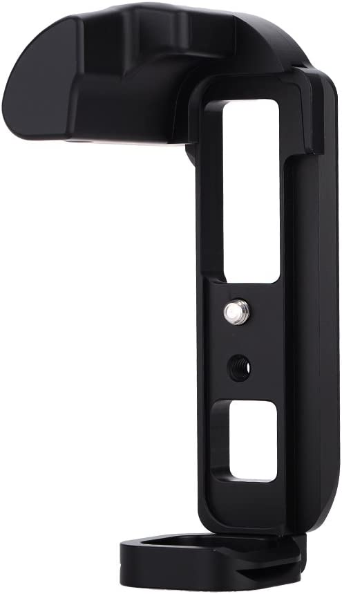 LB-EPL5 Black Aluminum Dedicated Camera Quick Release L-Plate Hand Grip Bracket with 1//4 Mounting Screw for Olympus E-PL5 //E-PL6 Palaida