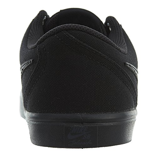 Nike Women's SB Check Solar Canvas Skateboarding Shoe Black/Black-anthracite C0wx0