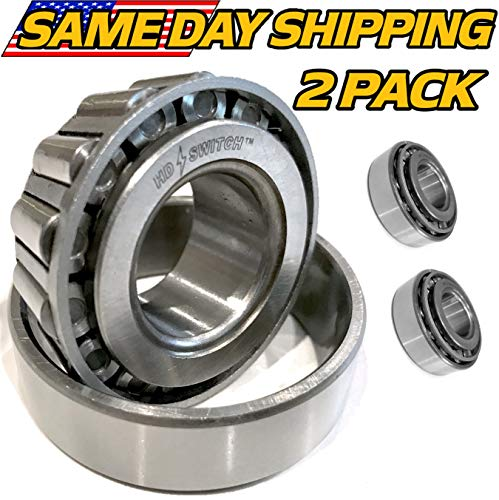 - (2 Sets) Toro Z Master Front Wheel Fork Caster Bearing 254-94, 1-543509 - HD Switch