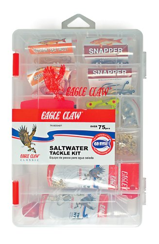 Lazer Sharp E.C. South Coastal Tackle Kit, 75 Piece ()