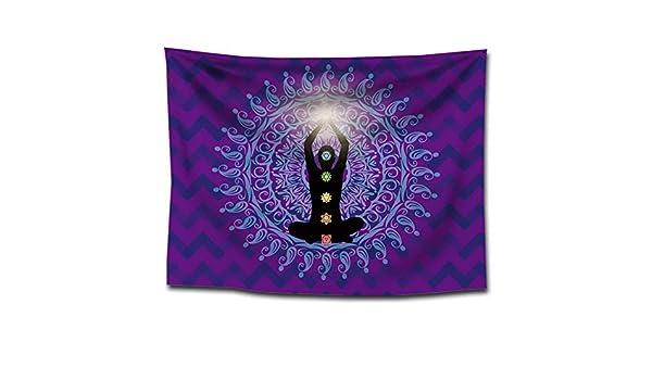 India Siete Chakras Alfombra Meditación Zen Buddha Yoga ...