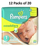 Pampers Swaddlers Size 1 240 Count