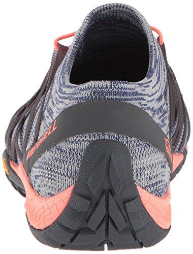 Merrell 4 w Blue Running Scarpe Glove Knit Trail Da Donna Depths BBwr4qnx1