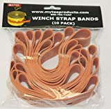 Mytee Products Winch Strap Heavy Duty Band (10 Pack)