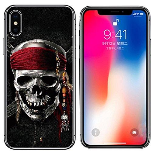 iPhone 8 Plus Case,iPhone 7 Plus Case,Ailiber Multi-style Art Design Slim-Fit Anti-Scratches Anti-Finger Print Lightweight Soft TPU Protective Cover for Apple iPhone 7Plus/8Plus 5.5inch- Skull Pirate