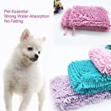 dds5391 Portable Puppy Dog Bath Drying Towel Soft Strong Water Absorption Pet Accessory