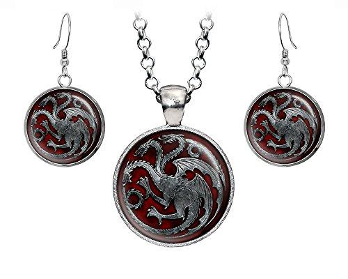 Game of Thrones Targaryen Pendant