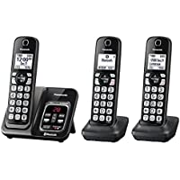 Panasonic KX-TGD563M Link2Cell Bluetooth Cordless Phone with Voice Assist and Answering Machine - 3 Handsets (Certified Refurbished)