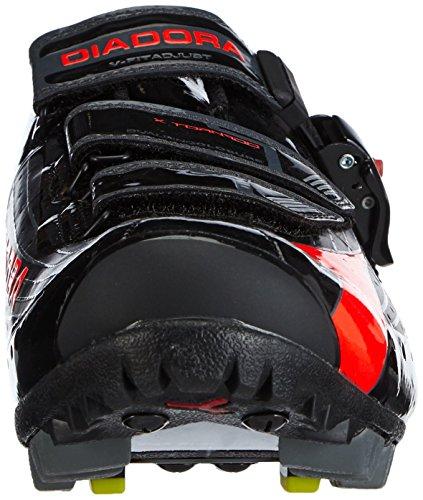 Diadora pour de cyclisme Orange TORNADO Noir Schwarz X 4115 femme Chaussures Schwarz XnrBXq