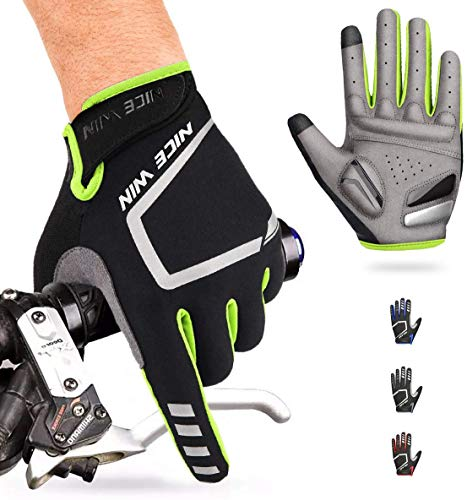 NICEWIN Cycling Gloves Motorcycle Bike Mountain-Padded Road Bicycle Men Women