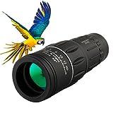 Kictero Monocular Scope, Dual Focus Monocular Telescope Night Vision, Optics Zoom Monocular Scope for Adults / Kids Bird Watching, Concert, Hunting, Surveillance