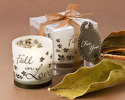 Artisano Designs ''Fall in Love'' Tea Light Candle Holder, 4-Pack