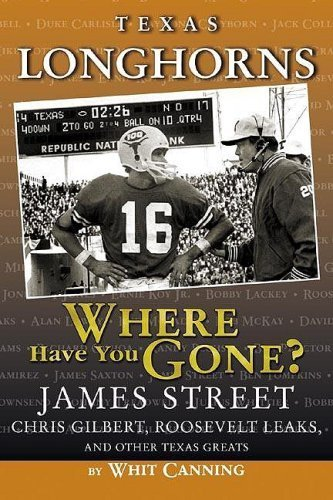Longhorn Handles - Texas Longhorns: Where Have You Gone? by Whit Canning (2005-07-01)