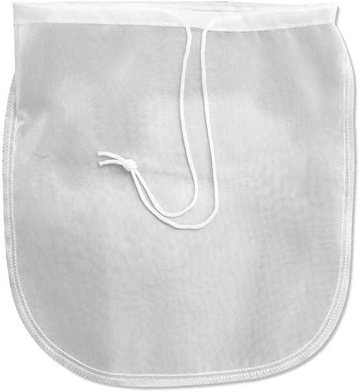 Compra Nut milk bag Bolsa para hacer leche vegetal Bolsa de Muselina de Algodón de Filtro de Leche Bolsa de Alimentos Bolsa de Estopilla Malla de nailon para colar zumo lech Para