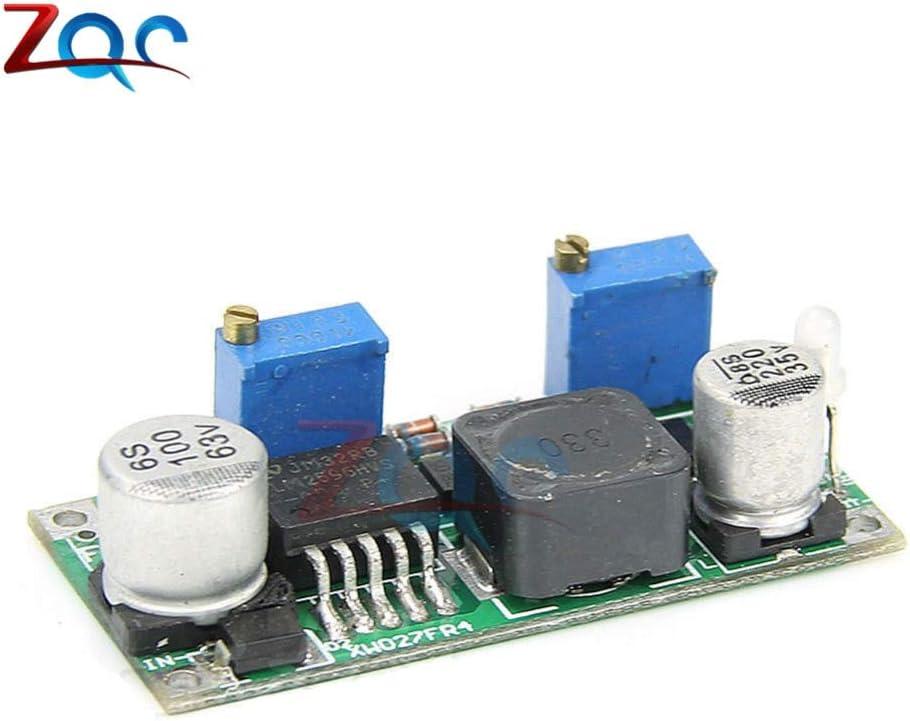DC//DC LM2596 HVS LM2596HVS 60V 3A Buck Corriente//Voltaje constante CC CV M/ódulo de reducci/ón del nivel Indicador LED Conversi/ón de alta frecuencia