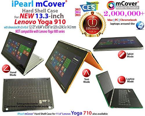 mCover Ligero Funda Dura Lenovo Yoga 910 13,9 Pulgadas portátil - Negro