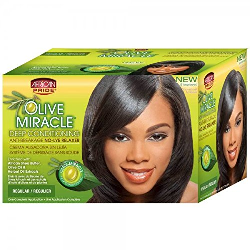 African Pride Hair Conditioner and Relaxer Kit, Regular, 1 Ounce ()