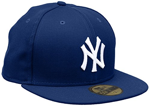 Sombrero Mlb White de b Black Fitted New Yankees Ny Era 59fifty Basic B7z6fnq