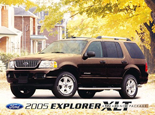 - 2005 Ford Explorer XLT Appearance Package 1-page Car Dealer Sales Brochure Card