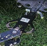 """FERAL ATV Gear 1-1/4"""" X 6"""" Spread Eagle 3-Way Hitch"""