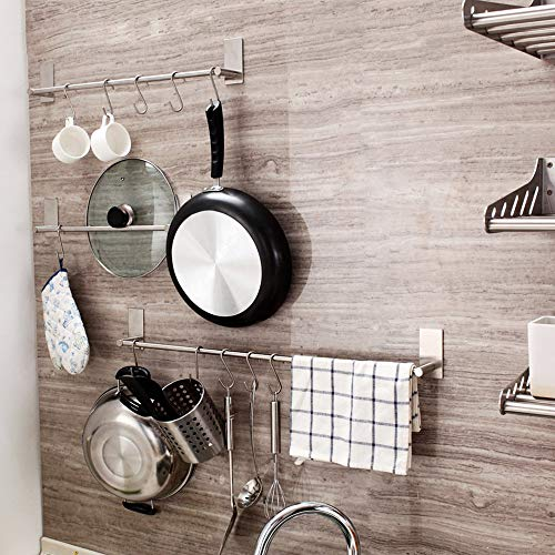 S Shaped Hooks for Bathroom Bedroom Office Kitchen to Hang Pots Pans Plants 10