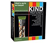 KIND Bars, Fruit & Nuts in Yogurt, Gluten Free, 1.4 Ounce Bars, 12 Count
