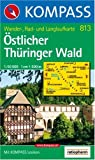 Östlicher Thüringer Wald: Wander-, Rad- und Langlaufkarte. 1:50.000