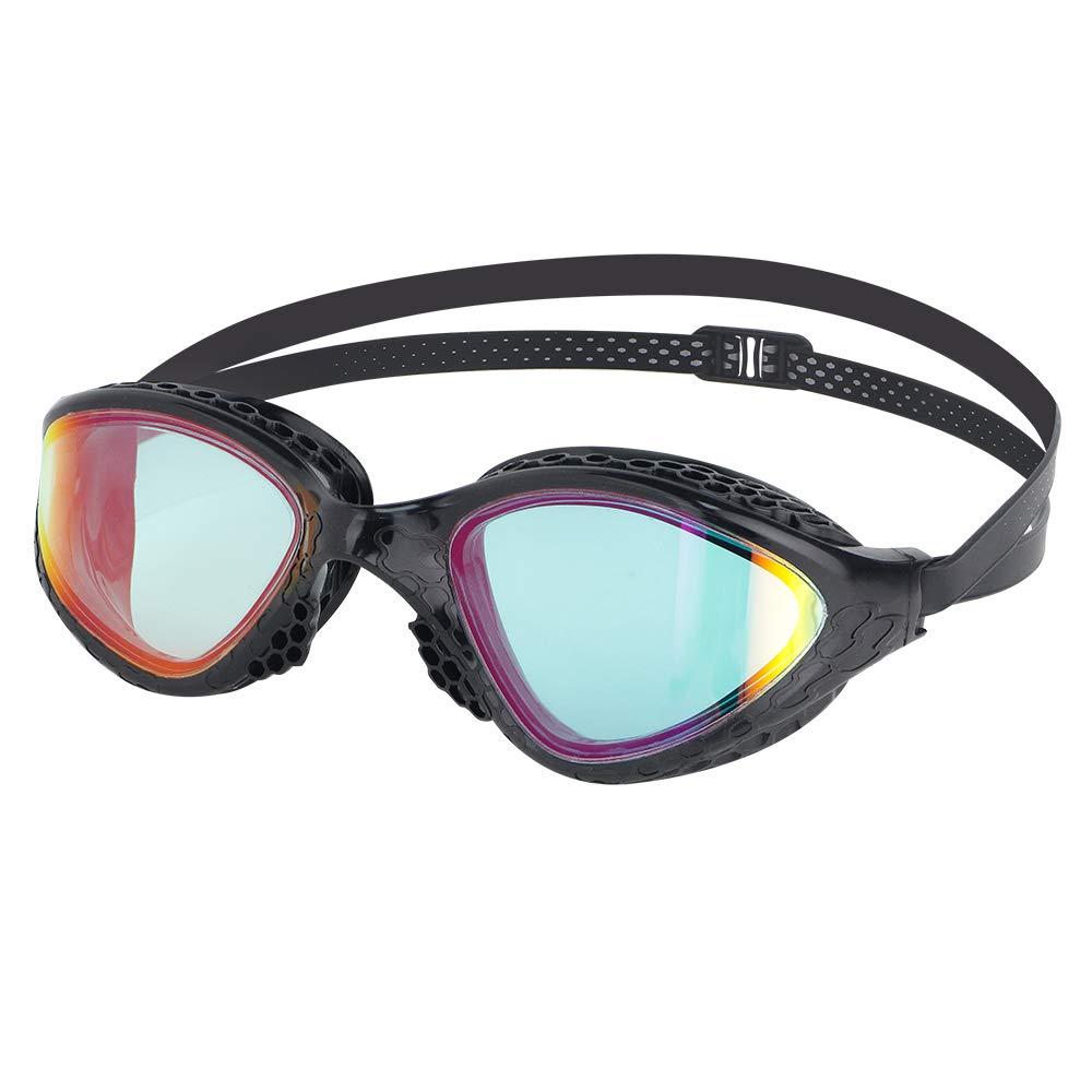 Anti-Fog UV Protection for Adults Men Women VR-945 LANE4 iron3 Performance /& Fitness Swim Goggle Hydrodynamic Design