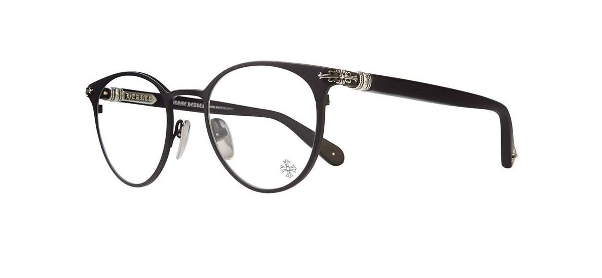 Chrome Hearts - Morning Shake - Eyeglasses (Matte Black-Matte Black-Plastic, Clear Demo with AR) by Chrome Hearts