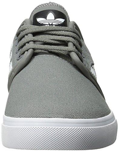 Scarpe Da Uomo Adidas Originali Seeley Stringate Mid Cinder / Running Bianco / Nero