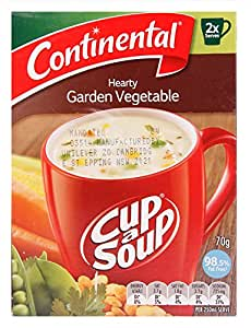 Continental Cup A Soup Creamy Garden Vegetable 2 pack 70G