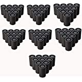 Film Canister with Caps for 35mm Film(Black) 70 PCS