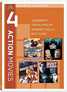 4 Action Movies: Juggernaut / The Killer Elite / Winners Take All / Boot Camp