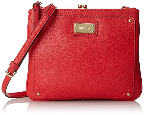 Nine West Jaya Cross Body Bag Rio Red One Size