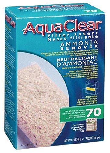 AquaClear 70 Ammonia Remover, 12.2 Ounce (Ammonia Remover Filter)